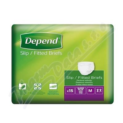 Depend Slip Super Plus inkont.kalhotky vel.M 15ks