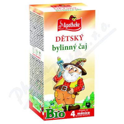 Apotheke Dětský čaj BIO bylinný 20x1.5g