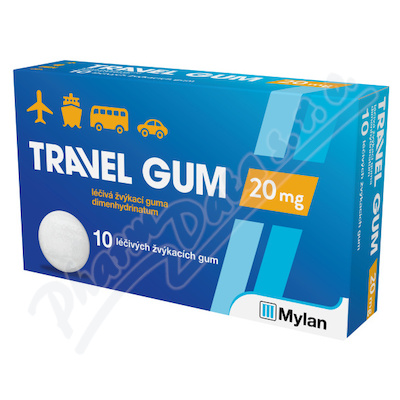 Travel Gum 20mg gum.mnd.10