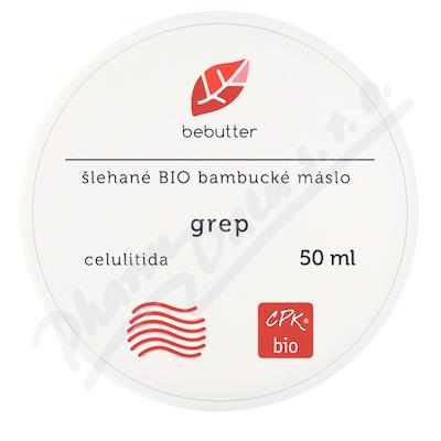 Bebutter Šlehané BIO bambucké máslo grep 50ml