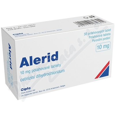 Alerid 10mg tbl.flm.50