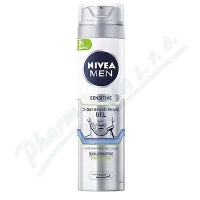 NIVEA MEN gel na 3denní strniště 200ml 81739