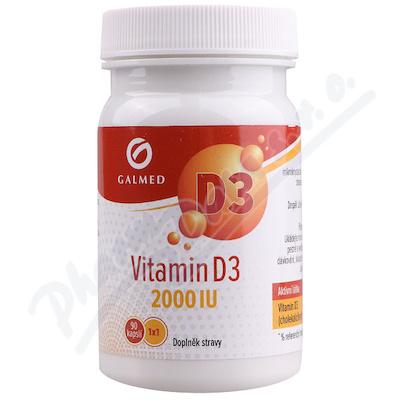 Vitamín D3 2000 IU cps.90 Galmed