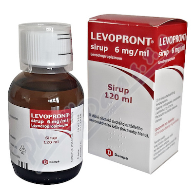 Levopront 6mg/ml sir.1x120ml