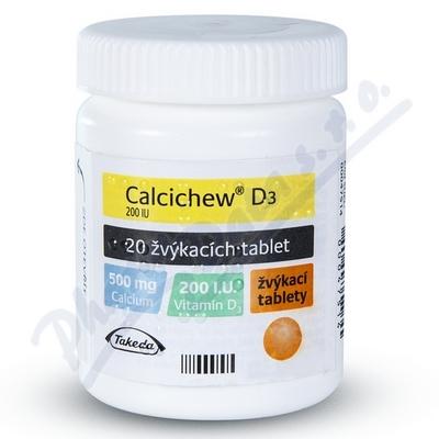 Calcichew D3 ctb.20