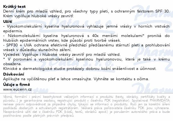 EUCERIN HYALURON-FILLER denní krém SPF30 50ml